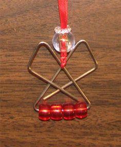 Original Vicki - paper clip angel