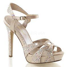 Fabulicious High Heel-Sandaletten Lumina-23 champagne Gr. 35