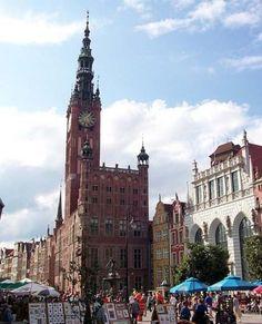 Town Hall, Ratusz, Gdansk, Poland.