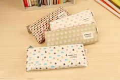 korean stationery kawaii Cute cartoon giraffe pencil bag Multicolor storage bag pen bag school