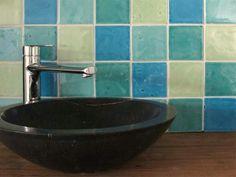 Wandtegels Badkamer Blauw : Beste afbeeldingen van wandtegels handgevormde tegels