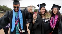 """CSUSM Graduates are HAPPY to celebrate commencement after the ceremonies were cancelled following last week's San Diego wildfires.  Pharrell Williams' """"Happy"""" music video by graduates of California State University San Marcos"""