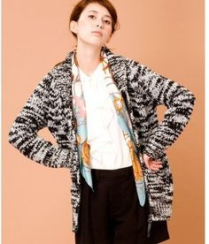 Marled Knit Cardigan / ShopStyle: ビューティ&ユース(BEAUTY&YOUTH UNITED ARROWS)