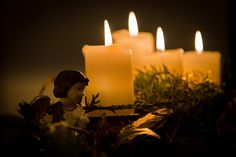 Do Not Depart Encouragement and Tools to Abide in God's Word: Scripture-Centered Traditions | This Image: Advent Wreath