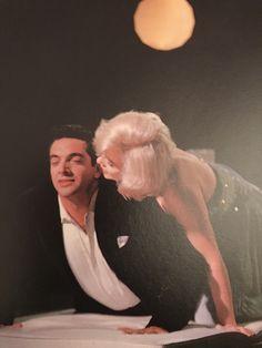 """Frankie Vaughan and Marilyn Monroe, """"Let's Make Love"""", 1960."""