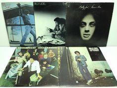 Billy Joel LP, Vinyl Record, Album Lot: Piano Man + Glass Houses + Turnstiles ++ stores.ebay.com/capcollectibles