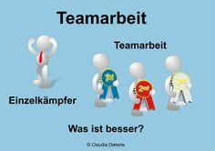 Bild zum Blogeintrag Einzelkämpfer oder Teamarbeit? auf http://www.tipptrick.com/2014/07/30/claudias-praktischer-ratgeber-blogparade-teamarbeit/