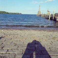 Bodensee, Imperia, friend, shadow.
