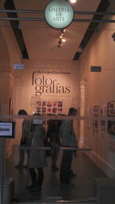 """Lo que tenemos en la UC hasta el 15 de junio es """"seguramente la mejor exposición de fotografía que se ha realizado en Chile"""", Luis Poirot. NO se lo la pierdan."""