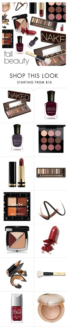 """The Best in Fall Beauty"" by dressedbyrose ❤ liked on Polyvore featuring beauty, Urban Decay, Deborah Lippmann, Gucci, Burberry, Chanel, LAQA & Co., Bobbi Brown Cosmetics, Christian Dior and Too Faced Cosmetics"