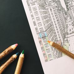 Get Your Colored Pencils: Fantastic Cities is Finally Here!
