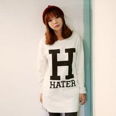 Buy 'it's girl – Lettering Long T-Shirt' with Free International Shipping at YesStyle.com. Browse and shop for thousands of Asian fashion items from South Korea and more!