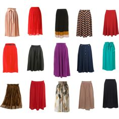 yay for long skirts!