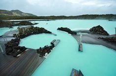 Одно из чудес Исландии – Голубая лагуна/ Blue lagoon