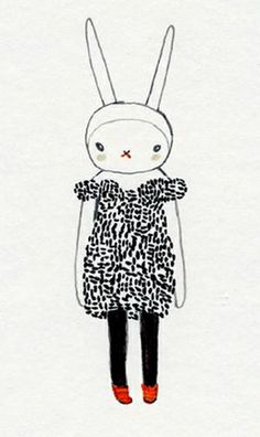 Fifi Lapin wears Marc Jacobs