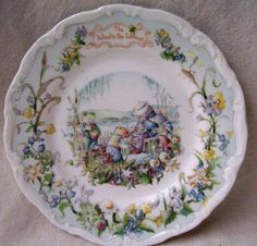 Royal Albert - Wind In the Willows Collection - Collector Plates www.royalalbertpatterns.com