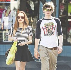Evan Peters and Taissa Farmiga <3