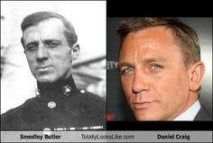 smedley butler look like daniel Craig