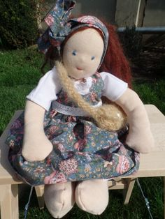 Waldorf Doll by LittleDollsBySzandra on Etsy