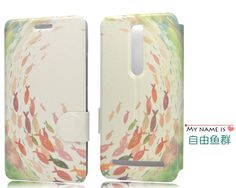 """ASUS Zenfone 2 Case Cute Cartoon Painting Flip PU Leather With Stand Cover For ASUS zenfone2 ZE551ML 5.5"""" inch-inPhone Bags & Cases from Phones & Telecommunications on Aliexpress.com   Alibaba Group"""