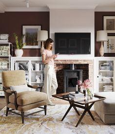 Tatyana Shevchenko on Behance 3d Visualization, Behance, Living Room, Interior, House, Design, Home Decor, Decoration Home, Room Decor