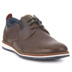 FOSCO Zapato Casual Piel Fosco Marrón Mens Wingtip Shoes, Mens Shoes Boots, Leather Shoes, Men's Shoes, Dress Shoes, Guy Shoes, Shoe Box, Casual Shoes, Oxford Shoes