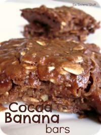 Cocoa Banana Bars Recipe