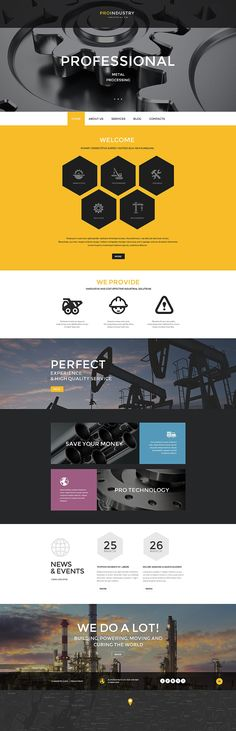 When it's grey, add some yellow. A perfect example of how a #business #WordPress #website can personalize your business and make it closer to your customer.