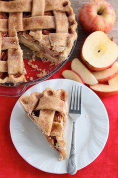 Apple Cheesecake Pie from DessertNowDinnerLater.com