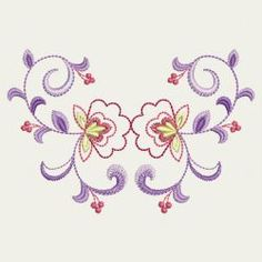 Decorative flowers 15 machine embroidery designs
