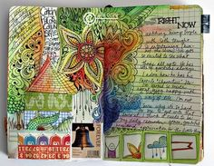 Jen Olson - Love her style! http://jolson.typepad.com/photos/open_book_art_journal_pag/jo_6.html