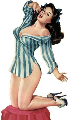 Pin Up Girls..risky business!