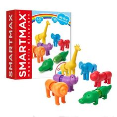 SmartMax My First - Safari Animals Math Bingo, Math Games, Stem Learning, Simple Math, Games For Toddlers, Toddler Play, Language Development, Safari Animals, Creative Thinking