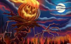"""Celebrated on the 31st of October, Halloween, or """"The night of all saints"""", translated from the old Scottish naming, is an annual holiday celebrated in many parts of the world. Description from pxleyes.com. I searched for this on bing.com/images"""
