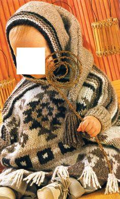 [Tricot] Le poncho ethnique pour bébé - La Boutique du Tricot et des Loisirs Créatifs