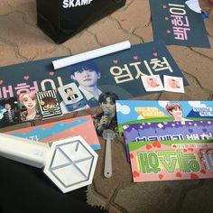 #exolightstick Aesthetic Themes, Kpop Aesthetic, Exo Merch, Baekhyun Chanyeol, Bts And Exo, Mochi, Pink Girl, Fangirl, Korea