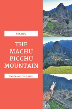 After 2 weeks in Peru, we explored the long-anticipated Machu Picchu Mountain and admire one of the new 7 wonders of the world. Machu Picchu Mountain, Wonders Of The World, Hiking, Explore, Poster, Travel, Walks, Posters, Viajes