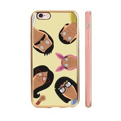 This cell phone case for the person who'd like to call the Belcher's house to gossip with Linda. Cute Phone Cases, Iphone Cases, Iphone 6, Bobs Burgers Gifts, Bob's Burgers Merchandise, Burger Phone, Cool Gifts, Diy Gifts, Tina Belcher