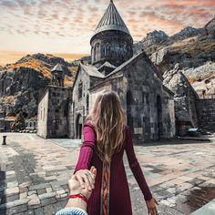 Follow me to Geghard monastery, Armenia