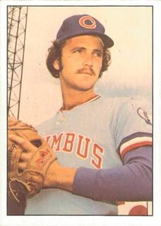 1978 TCMA Columbus Clippers #27 Ed Whitson Front