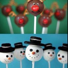 Holiday cake pop ideas