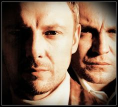 """John Simm (with Philip Glenister) at the time of """"Life on Mars"""""""