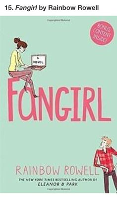 15 best 15 books to read before you start uni bookloversday 2017 fangirl by rainbow rowell fandeluxe