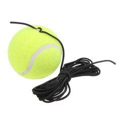 Solo Paquete de Perforación Herramienta de Tenis Entrenador de Tenis con Sustitución de Cadenas de Goma De Alta Calidad de Lana Accesorios de Entrenamiento de Tenis