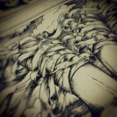 Diamonte #detail #art #artwork #ink #illustration #drawing #pen http://instagram.com/p/TG4XKFmnv-/