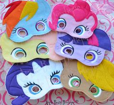 My Little Pony Inspired Masks
