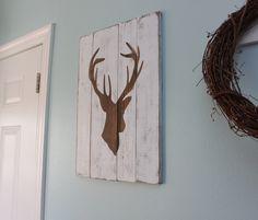 deer wood decor - Google Search