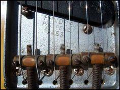 Fender_1952 Telecaster Bridge Telecaster Guitar, Fender Guitars, Fender Vintage, Vintage Guitars, Instruments, Buy Guitar, Wine Rack, Ears, Guitars