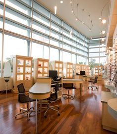 Lux Eyeware | Optical Office Design | Barbara Wright Design