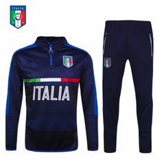 จัดเลย 2016--2017 Italy football team sports training football clothes.  -intl 83ac2af8780e